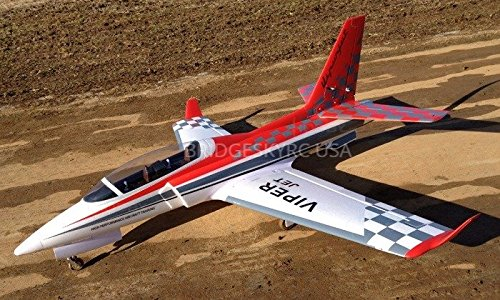 6 CH TAFT RED CHECKERED Viper 90mm RC EDF Jet KIT