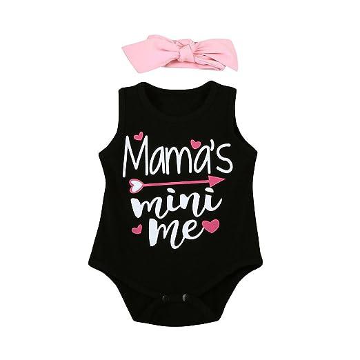 1a1ff8ca6 Amazon.com  Staron Baby Romper and Headband Set Newborn Girls ...