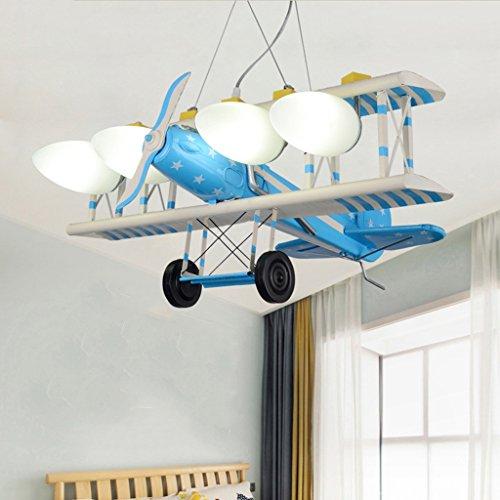 Augenschutz Flugzeug kreative Karikatur LED-Leuchten Kinderzimmer ...