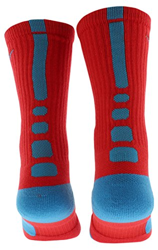 Blue Vivid Basketball Hyperelite Vivid Blue Crew Socks Nike Crimson tqzX8Aw