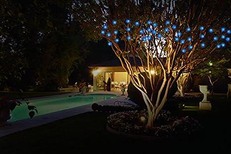 Jobar International Inc JB7839BLU IdeaWorks Outdoor Solar String LED Lights Blue