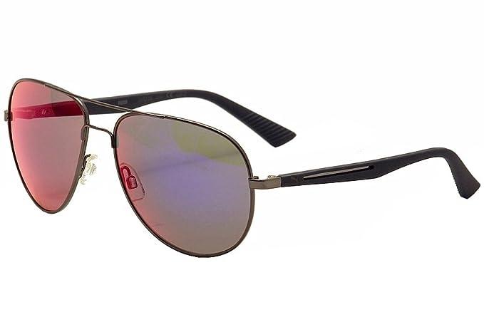 da993beae9 Puma Flexstyle V2 PU 0007S 0007 S 004 Ruthenium Blue Aviator Sunglasses 59mm