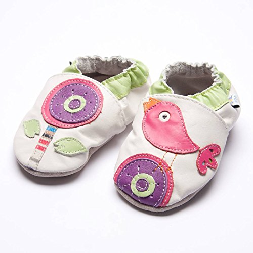 Jinwood designed by amsomo - Zapatillas de estar por casa para niña Multicolor - flower & bird soft sole