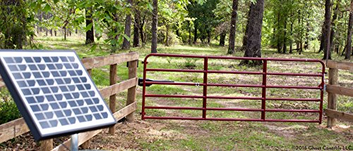 Ghost Controls TSS1 Heavy-Duty Single Automatic Gate Opener Kit for Swing Gates Up to 20 Feet (ft.) by GHOST CONTROLS (Image #2)