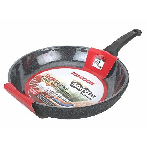 JOYCOOK Ceramic Marble Coated Cast Aluminum Non Stick Fry - Cast Aluminum Fry Pan