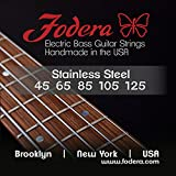 Fodera strings are carefully hand wound in our own string shop using the highest quality materials available. We pride ourselves on the outstanding qualities of our strings, including long life, tonal balance, and uniform tension. Our strings have be...