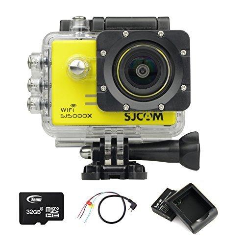 BOOMYOURS-Original-SJCAM-SJ5000X-WiFi-Elite-Edition-Action-Camera20inch-LCD12MP4K-24FPSSony-IMX078-SensorGyro-Anti-ShakeUSB-battery-charger