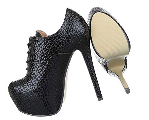 Ankle 40 Heels 36 High Blau Boots 38 39 35 Damen Rot 41 Schwarz Schwarz Stiefeletten 37 Schuhe qw6EWnfB