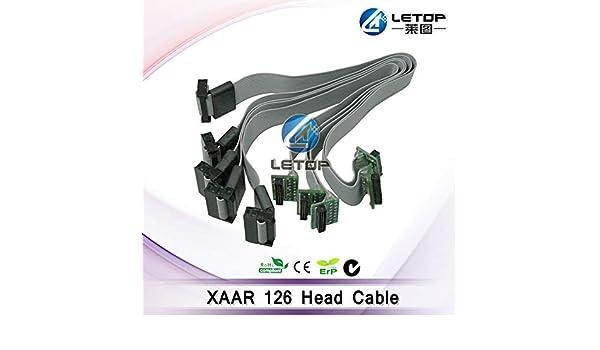 Printer Parts Original Yoton 126 Head Data Cable 16PI 32cm Yoton Cable for Solvent Printer