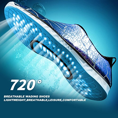 Water Aqua Wading Slippers Shoes Shoes Men's Women's Beach Aqua Skin Fishing Outdoor Sneakers Swimming Diving wqTBHF