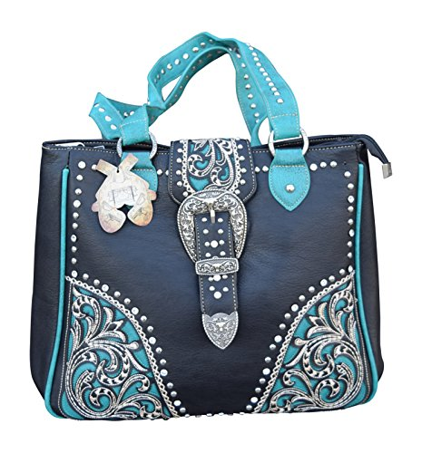 Womens Double Zippered Opening Concealed Carry Shoulder P...