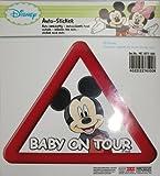 Mickey Mouse - Kaufmann Neuheiten MC-KFZ-100 Auto-Sticker