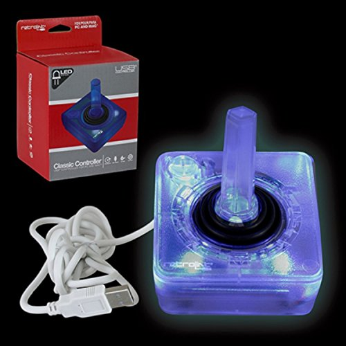 retro-link-atari-style-wired-usb-controller-for-pc-mac-blue-led