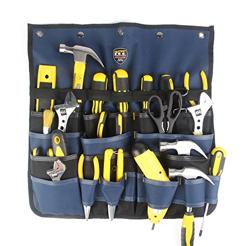 FASITE PT-N018 MultiPatternal Adjustable Hanging Bag Tool Organizer, Blue by FASITE
