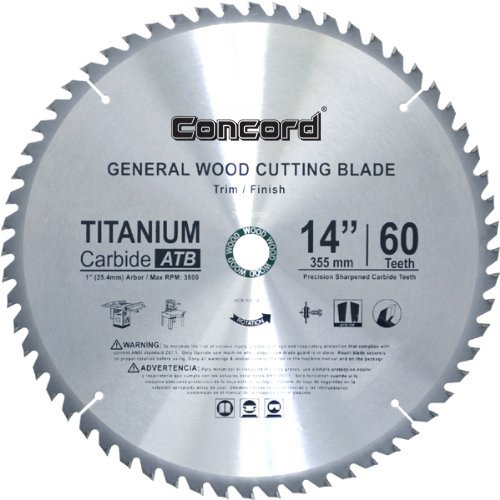 14 in miter saw blade - 1