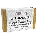 Vi-Tae Organic Psoriasis/Eczema Soap, 4 oz.