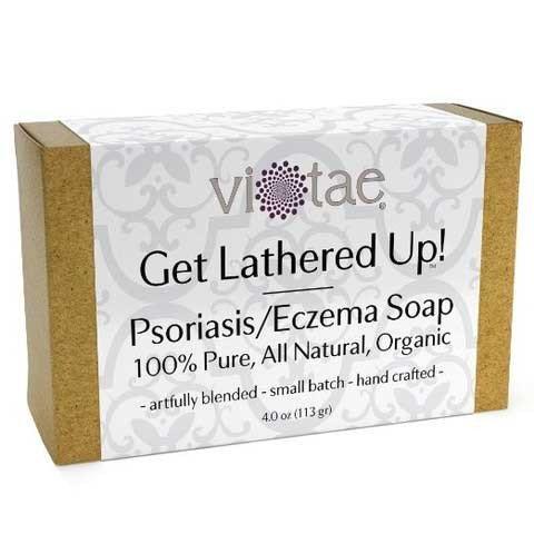 Vi Tae Organic Psoriasis Eczema Soap  4 Oz
