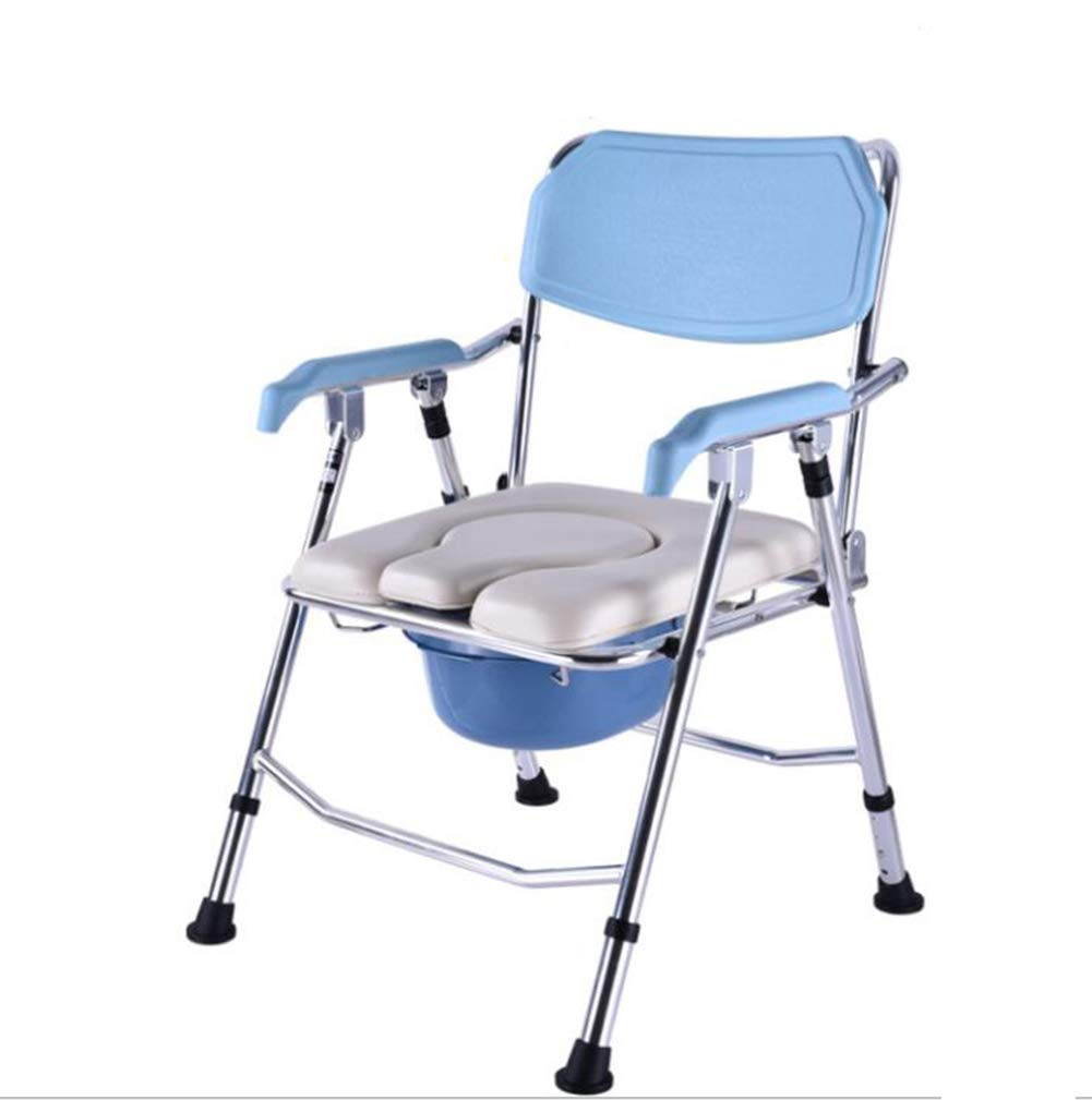 2019年新作 シャワー用高齢者用肘掛けトイレで調節可能な折り畳み式椅子と便座用トイレ B07G9F52FF, モノウグン:b5685194 --- fbrasil.com