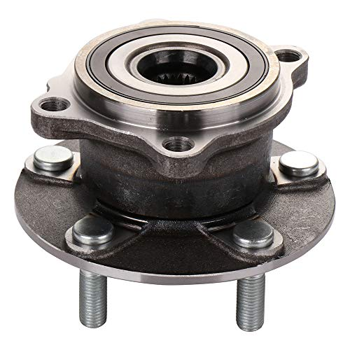 ECCPP Wheel Hub and Bearing Assembly Rear 512382 fit 2007-2012 Mitsubishi Lancer Outlander RVR Replacement for 5 lugs wheel hub with ABS 1 pcs