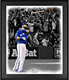 "Jose Bautista Toronto Blue Jays Framed 20"" x 24"" Bat Flip In the Zone Photograph - Fanatics Authentic Certified"