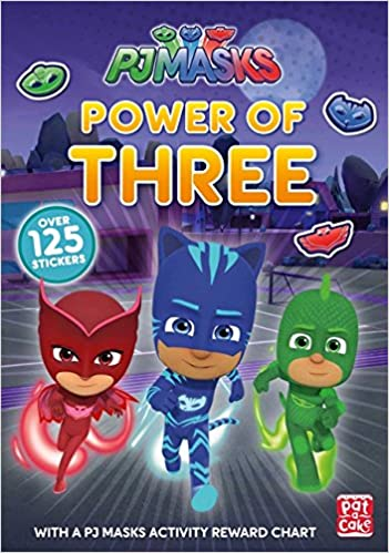 Power of Three: A PJ Masks Sticker Book: Amazon.es: Pat-a-Cake, PJ Masks: Libros en idiomas extranjeros