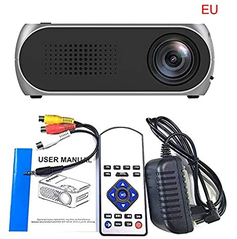 So De Buts Mini Proyector, vídeo Full 1080P Mini HD Proyector LCD ...