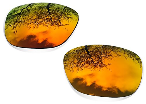 SURe Polarized Ice Blue + Fire Iridium Replacement Lenses for Oakley - Fire Iridium Oakley Lens Holbrook