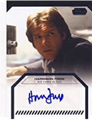 Star Wars Galactic Files Autograph Card Harrison Ford