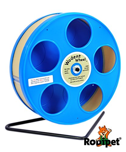 Ø 20 cm Laufrad für Zwerghamster RoboWheel blau/beige
