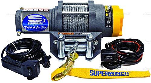 Superwinch - 1135220 - ATV/UTV Electric Winch, 1-3/5HP, 12VDC