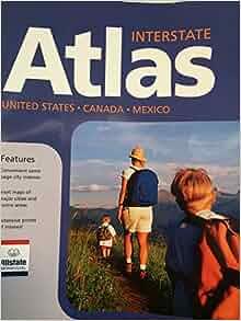 Allstate Motor Club Road Atlas United States Canada