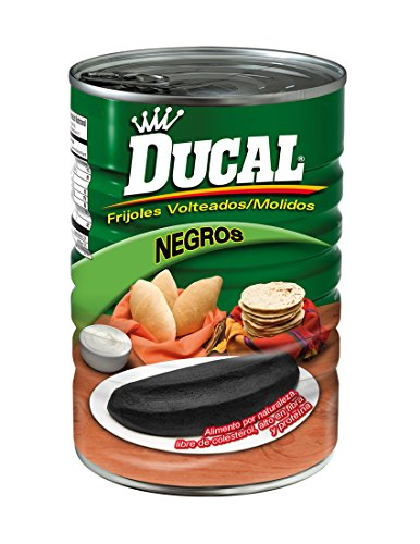 Ducal Black Refried Beans, 15 Ounce (Pack of 24) by Goya
