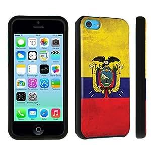 hgfdjhbvb DuroCase ? Apple iPhone 5c Hard Case Black - (Ecuador Flag) by hgfdjhbvb