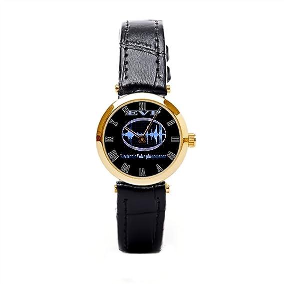 dodoband pulsera de cuero reloj de pulsera, reloj digital Paranormal: Amazon.es: Relojes