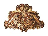 HMH HMH2926AG Lille Bedcrown Antique Gold Old World Finish