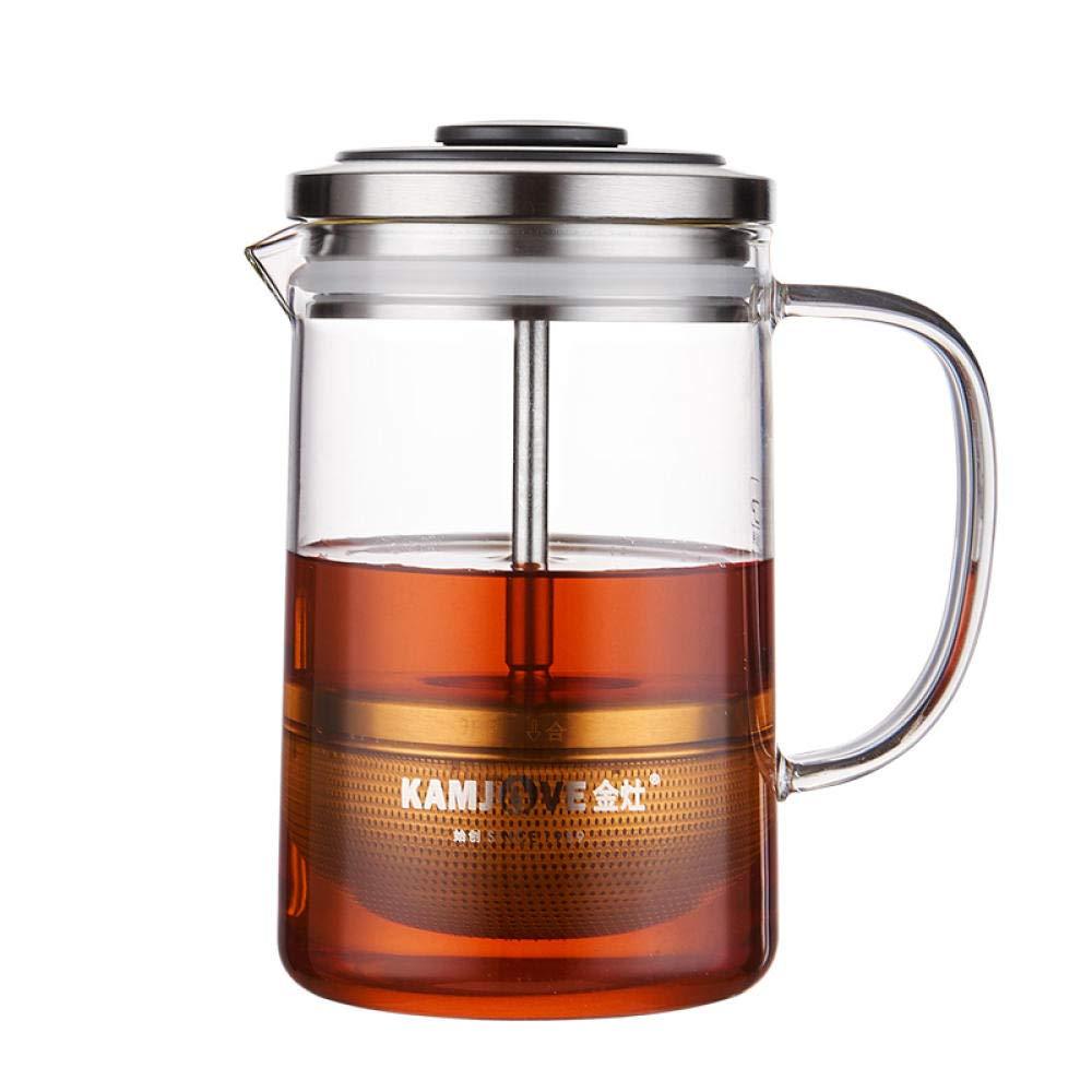 POTOLL Teiera da tè Verde Piccola Tazza da tè in Vetro Resistente al Calore, Tazza Elegante da 380 ml Prezzi