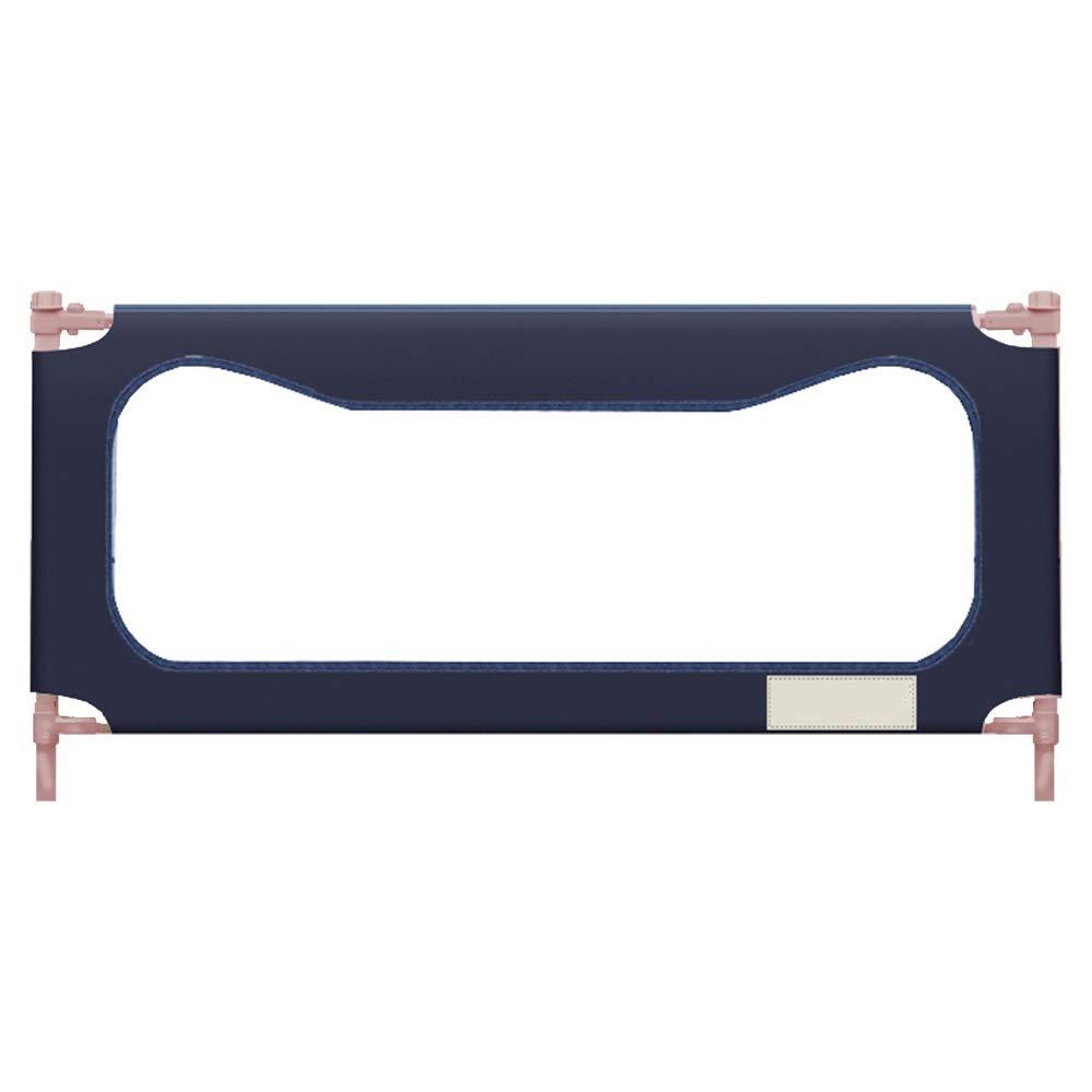 HUO ベッドフェンス 安全ゲート製品 の子バリアベッドベビーベッドレールセキュ リティフェンシング 子供のためガードレール (色 : 青, サイズ さいず : 200cm) 200cm 青 B07RM2K2L5