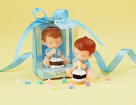 e-meoly Creative bebé cumpleaños velas encantadora Regalos ...
