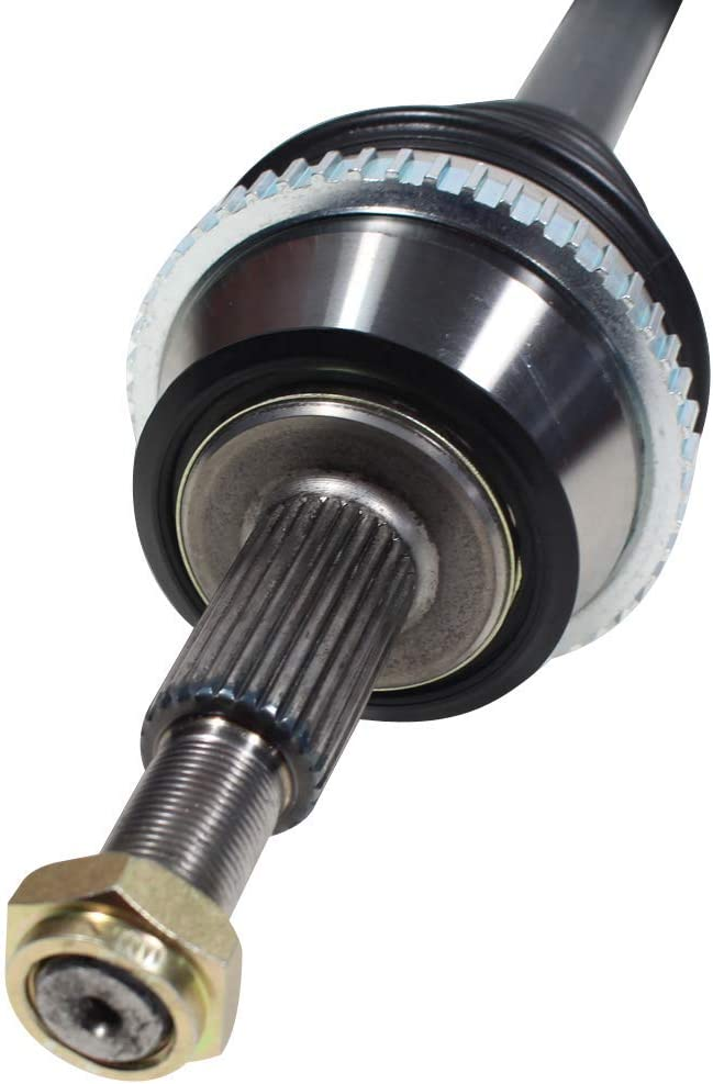 AX4S TRANS CODE ONLY Pair 2 Front CV Axle Drive Shaft Assembly for ...