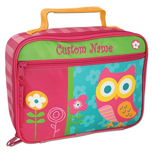 Personalized Classic Owl Lunch Box - CUSTOM NAME ()