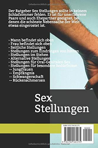 Stellungen schwangerschaft sex Schadet Sex