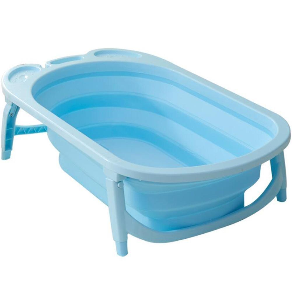 YUGDSIMB Large Folding Baby Tub , Blue