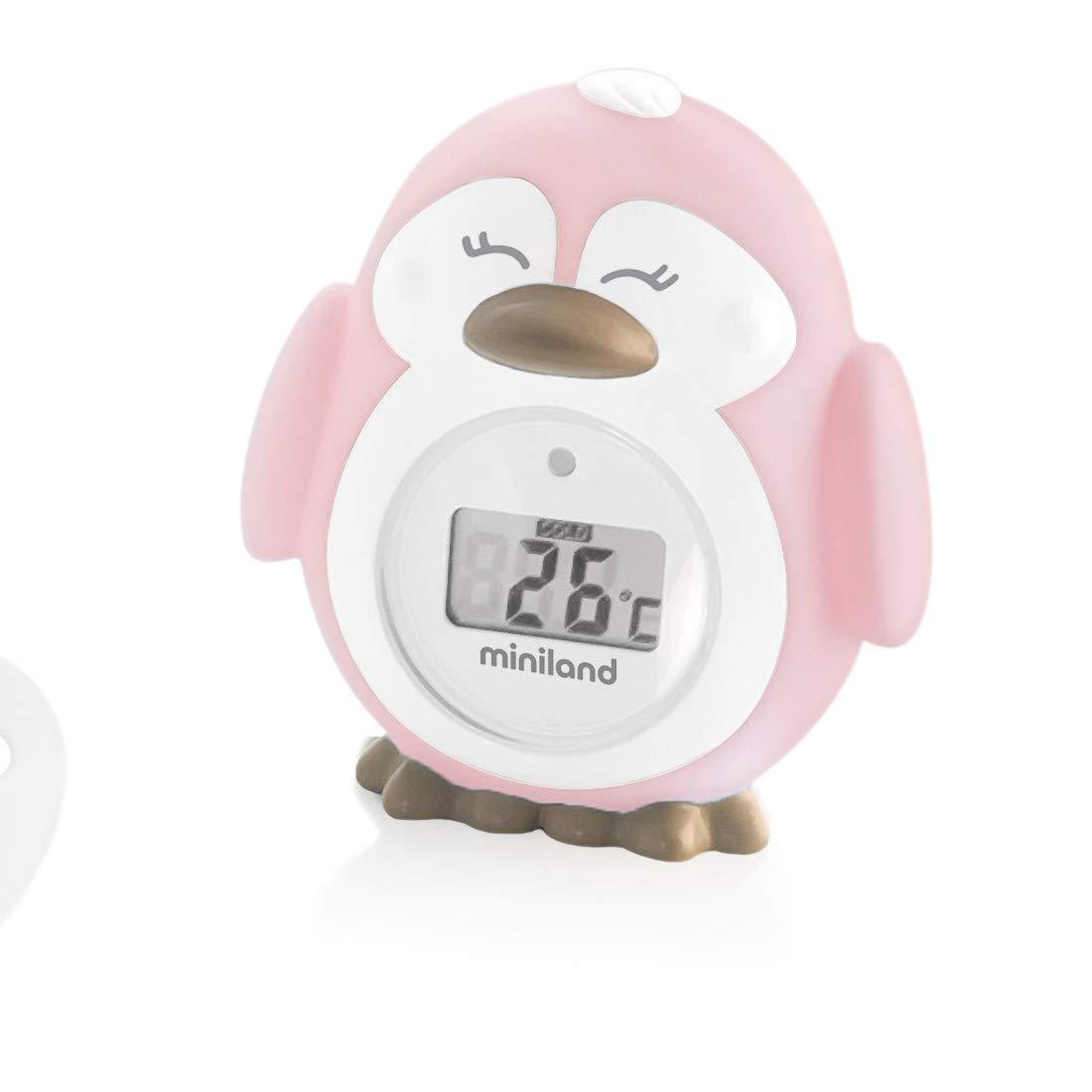 Miniland Thermokit - Set de 3 termómetros digitales de bebé, color rosa: Amazon.es: Bebé