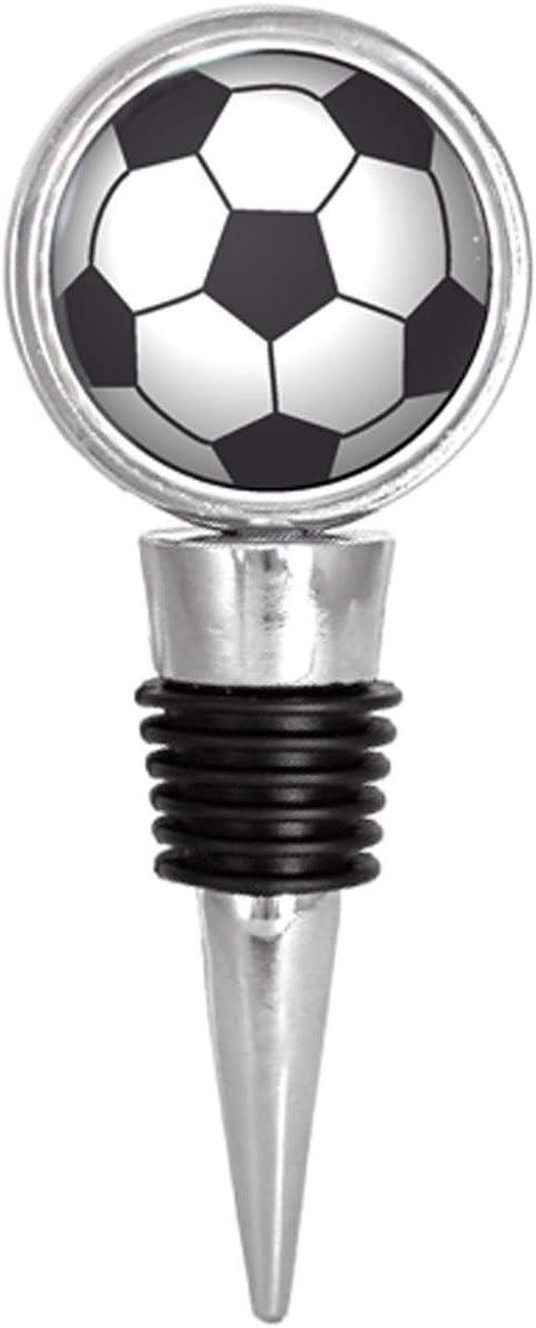 Un balón de fútbol tapón para botella de vino: Amazon.es: Hogar