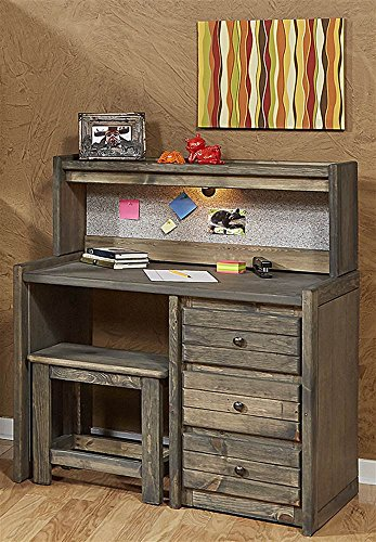 Chelsea Home Driftwood Student Desk with ()