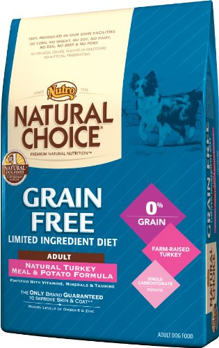 Natural Choice Grain Free Turkey Meal and Potato Formula Adult Dog Food, 24-Pound