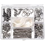 Darice Jewelry Designer Findings Kit - Antique Silver