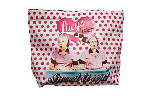 - Midsouth Products I Love Lucy Large Tote Bag - Chocolate Factory