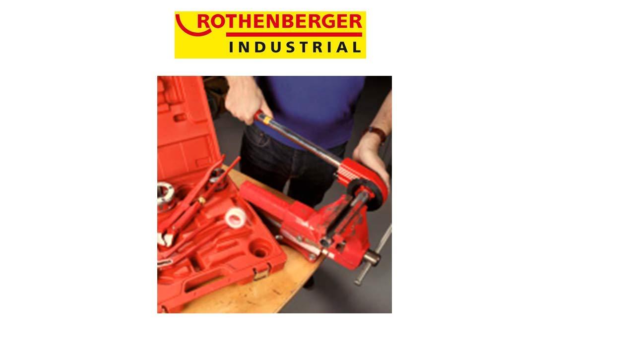 Inkl 4 Schneidk/öpfen Mit 4 Schneidk/öpfen Rothenberger Industrial Super Cut Gewindeschneidkluppensatz