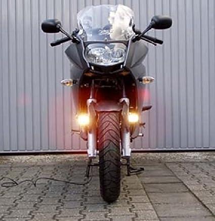 amazon com: micro hella driving lights fog lamps for bmw f800gs f800gt  f800r f800s f800st: automotive